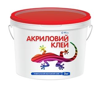 Клей акриловий POLIMIN (Полимин), 3 кг - купить в интернет магазине Budstore. Лучшая цена, отзывы и доставка. Киев, Украина.